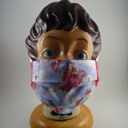 Maske mit Bügel reine Baumwolle 2 lagig waschbar - ELFE