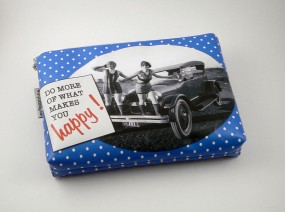 Washbag - happy -