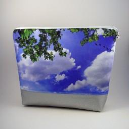 Kulturbeutel- Wolken -