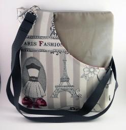 Schultertasche/Rucksack - Paris-Fashion -