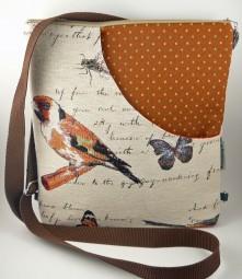 Schultertasche/Rucksack - Vögel -